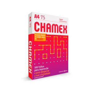 Papel A4 Branco Chamex Office (caixa com 10 pacotes)